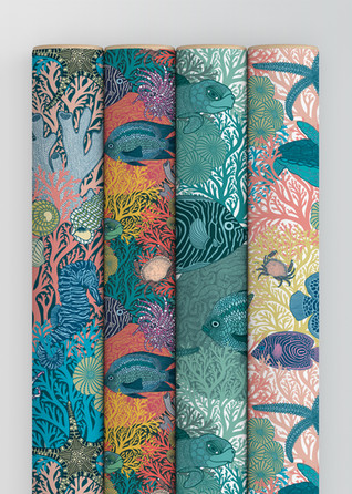 Underwater Love  Wrapping Paper