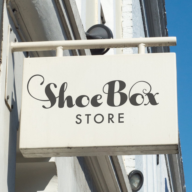 Brand design for Shoebox Store