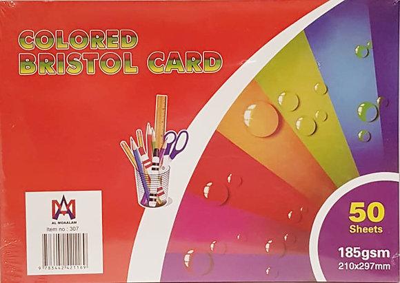 Colored Bristol Card