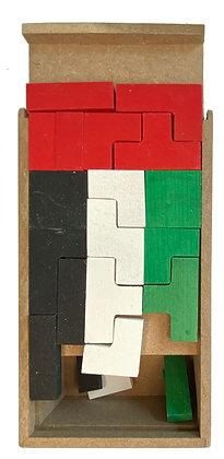 Tetris UAE Flag تتريس علم الإمارات