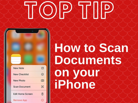 How to scan documents on your iPhone, iPad, or iPod touch