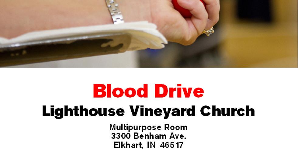 American Red Cross Blood Drive @ Lighthouse Vineyard Church