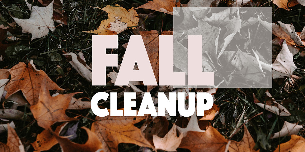 Fall Outdoor Cleanup Day