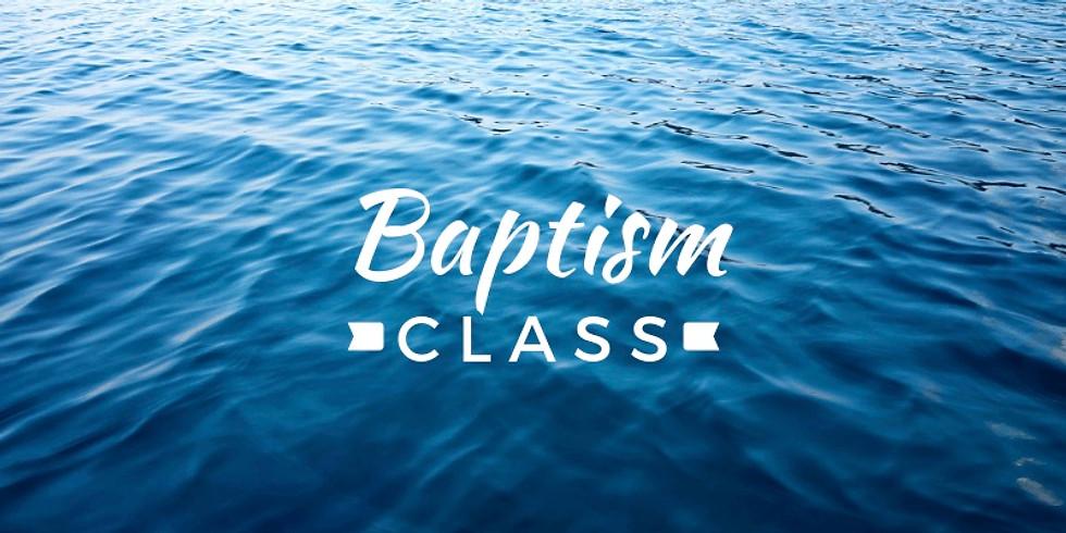 Baptism Class 7.15.2020