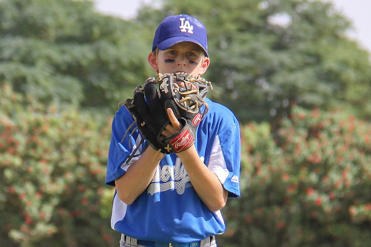 DLL Pitcher preparing to throw the ball