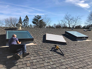 Skylight-replacement-Installation-proces