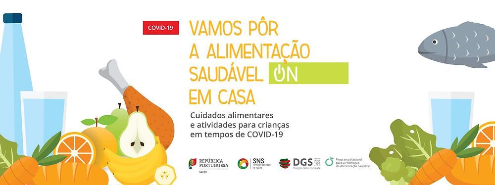 Cuidados alimentares e actividades para crianças em tempos de COVID-19