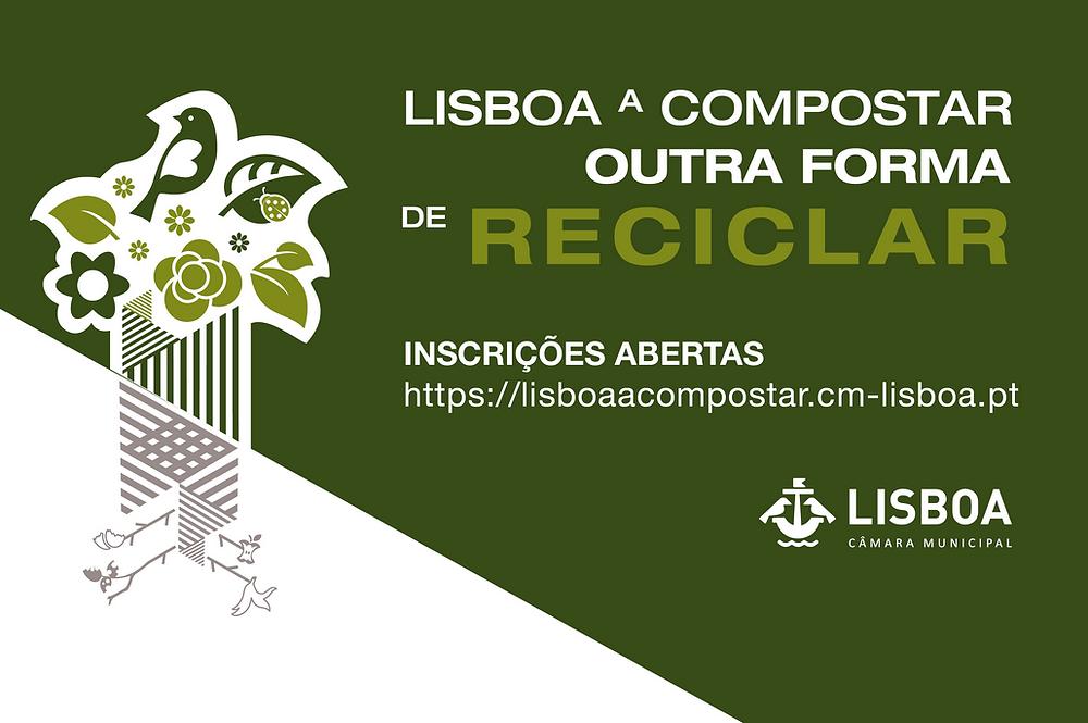 lisboa a compostar, reciclagem, resíduos, sustentabilidade