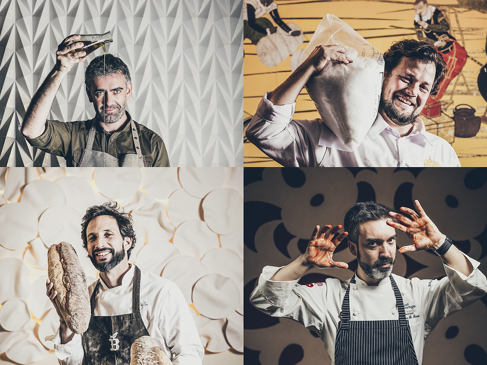 chefs, sangue na guelra, the power of food