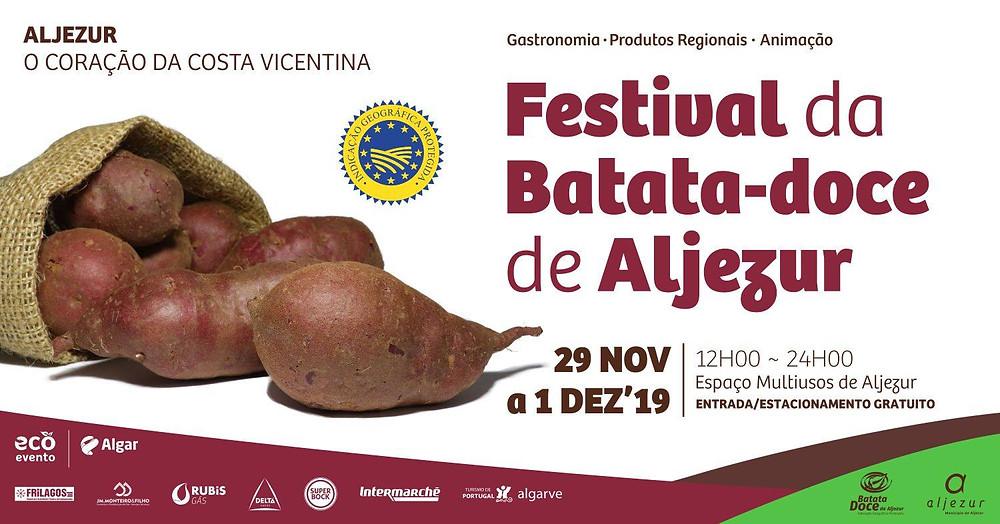 Batata Doce, Aljezur, Festival Gastronómico