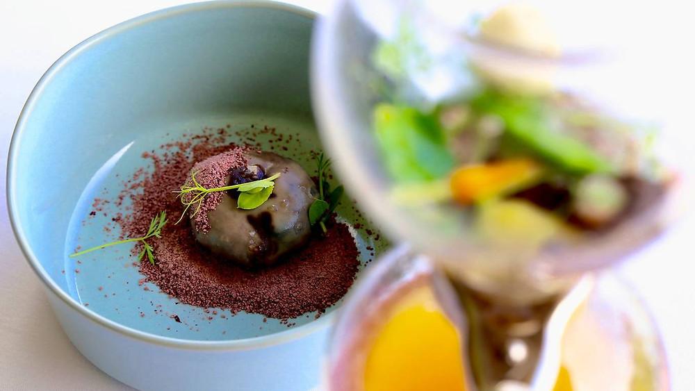 Sopa da Pedra numa versão do Chef Joachim Koerper