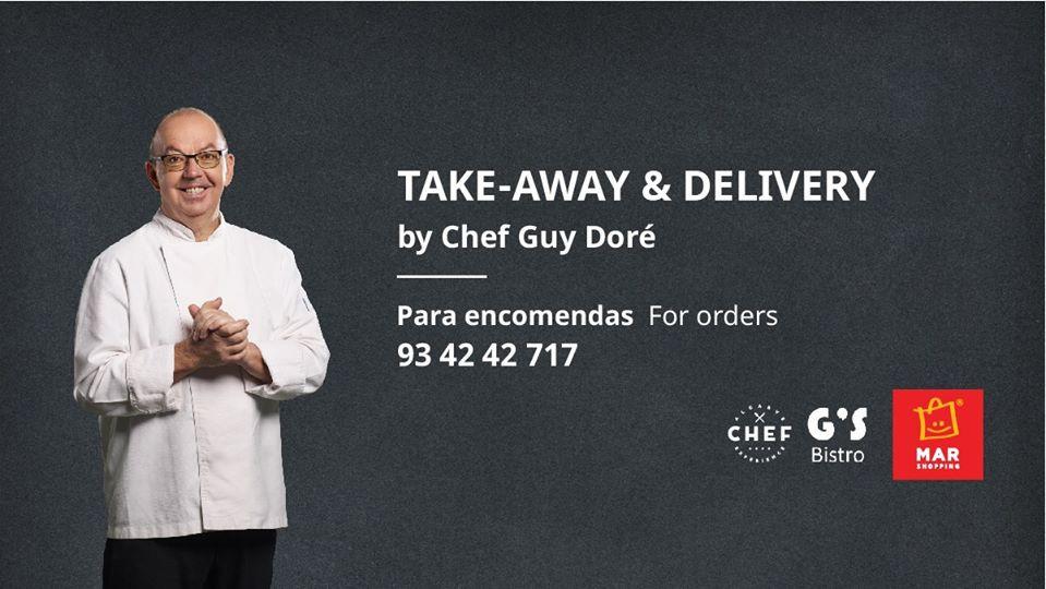 restaurantes, restauração, turismo, covid-19, crise, pandemia, g's bistro, take away, delivery, chef guy doré