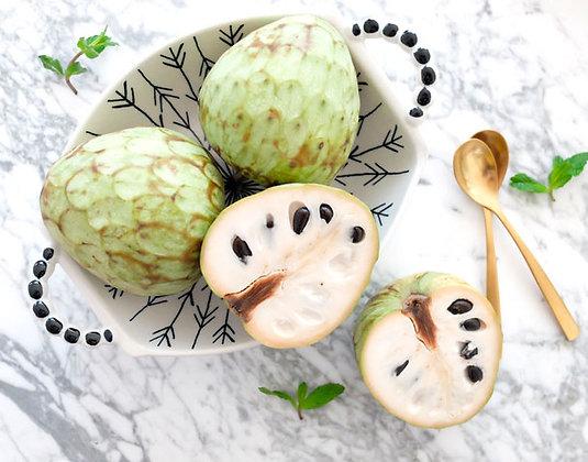 anonas, fruta do conde, chirimoya
