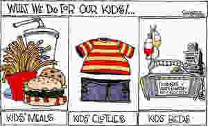 Publicidade, Fast Food, Alimentação Infantil