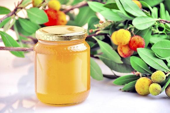 mel de medronheiro, miel d'arbousier