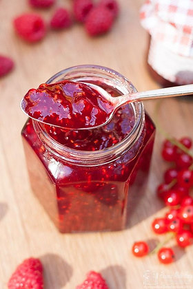 compota de groselha, red currant jam