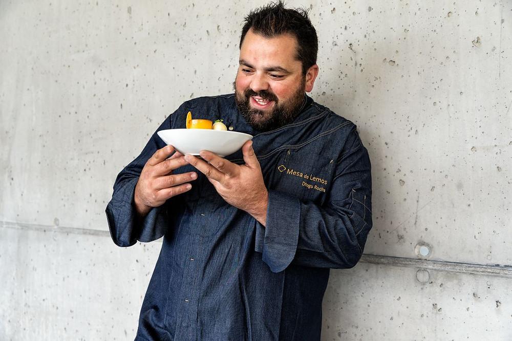 """O Chef Diogo Rocha é também autor dos livros """"Hoje, Diogo Rocha"""" (Vencedor do Prémio de Fotografia pela """"Portugal CookBook Fair 2017"""") e """"Queijaria do Chef"""""""