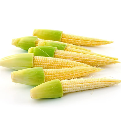 MINI MILHO, BABY CORN, SWEETCORN