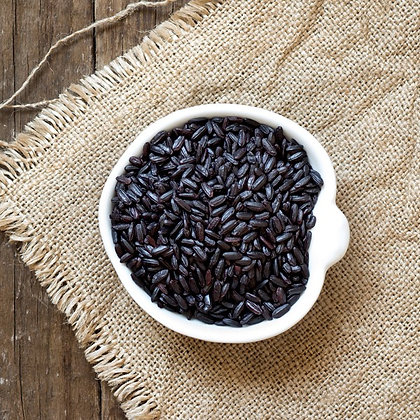 arroz negro italiano, black Italian rice