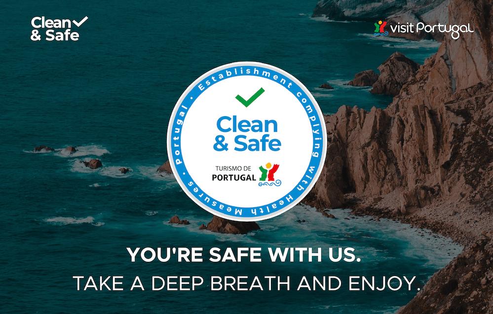 turismo, selo clean & safe, turismo de portugal, hotelaria, restauração