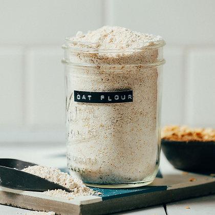 farinha de aveia, oat flour