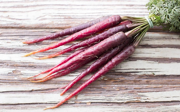 MINI CENOURA ROXA, BABY PURPLE CARROTS