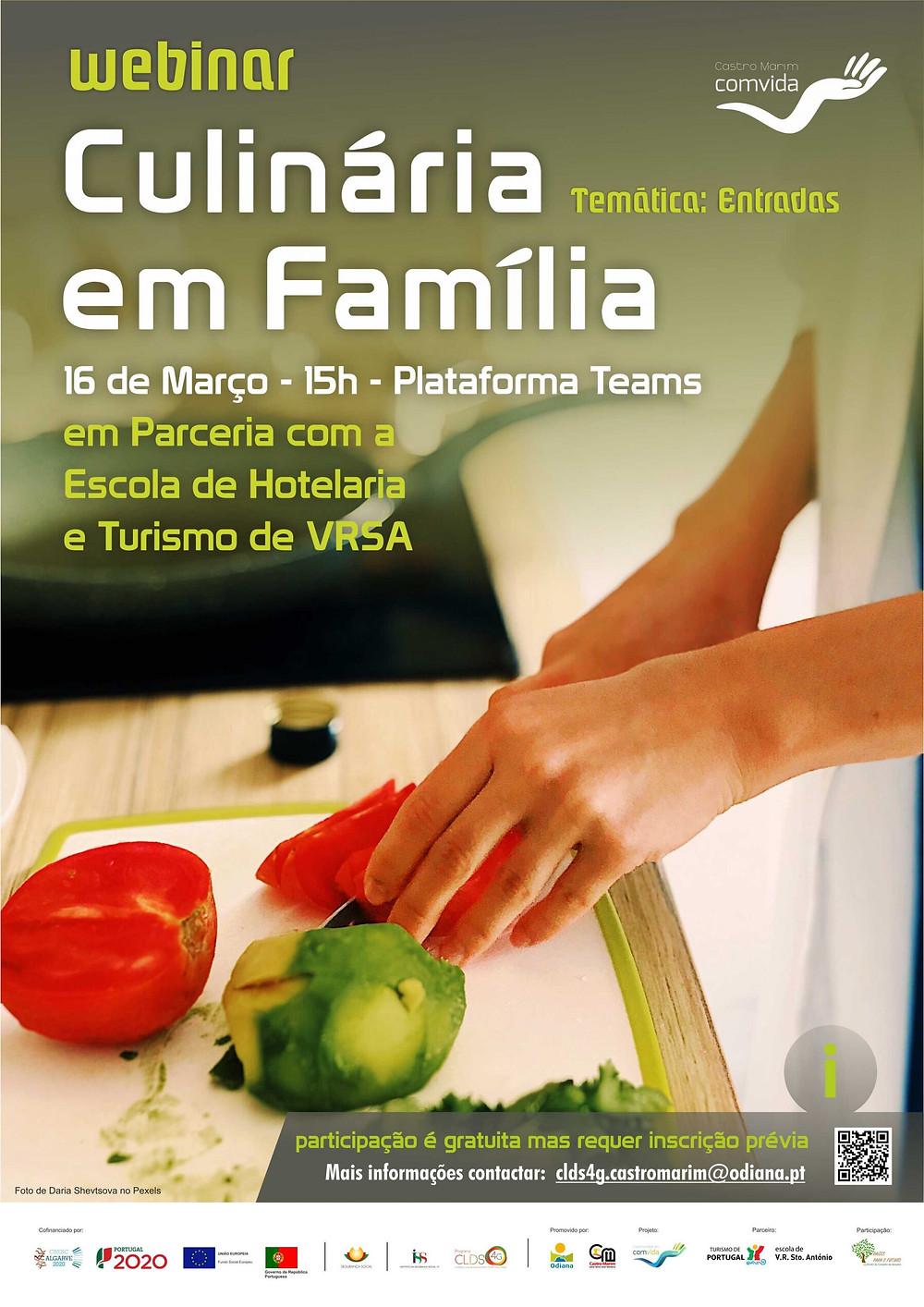 cozinhar, alimentação saudável, dieta mediterrânica, algarve, Castro Marim, odiana