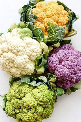 couve-flor colorida, colorful cauliflower