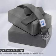 Yoga Blocks and Strap