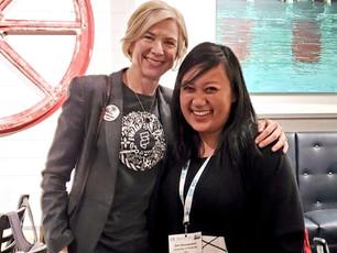 Met Jennifer Doudna at a conference (Mar 2020)