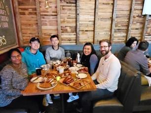 Lab BBQ dinner (March 2020)
