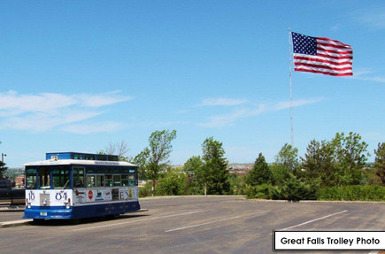 Great Falls Trolley Photo