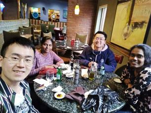 Cynthia's farewell lunch (March 2020)