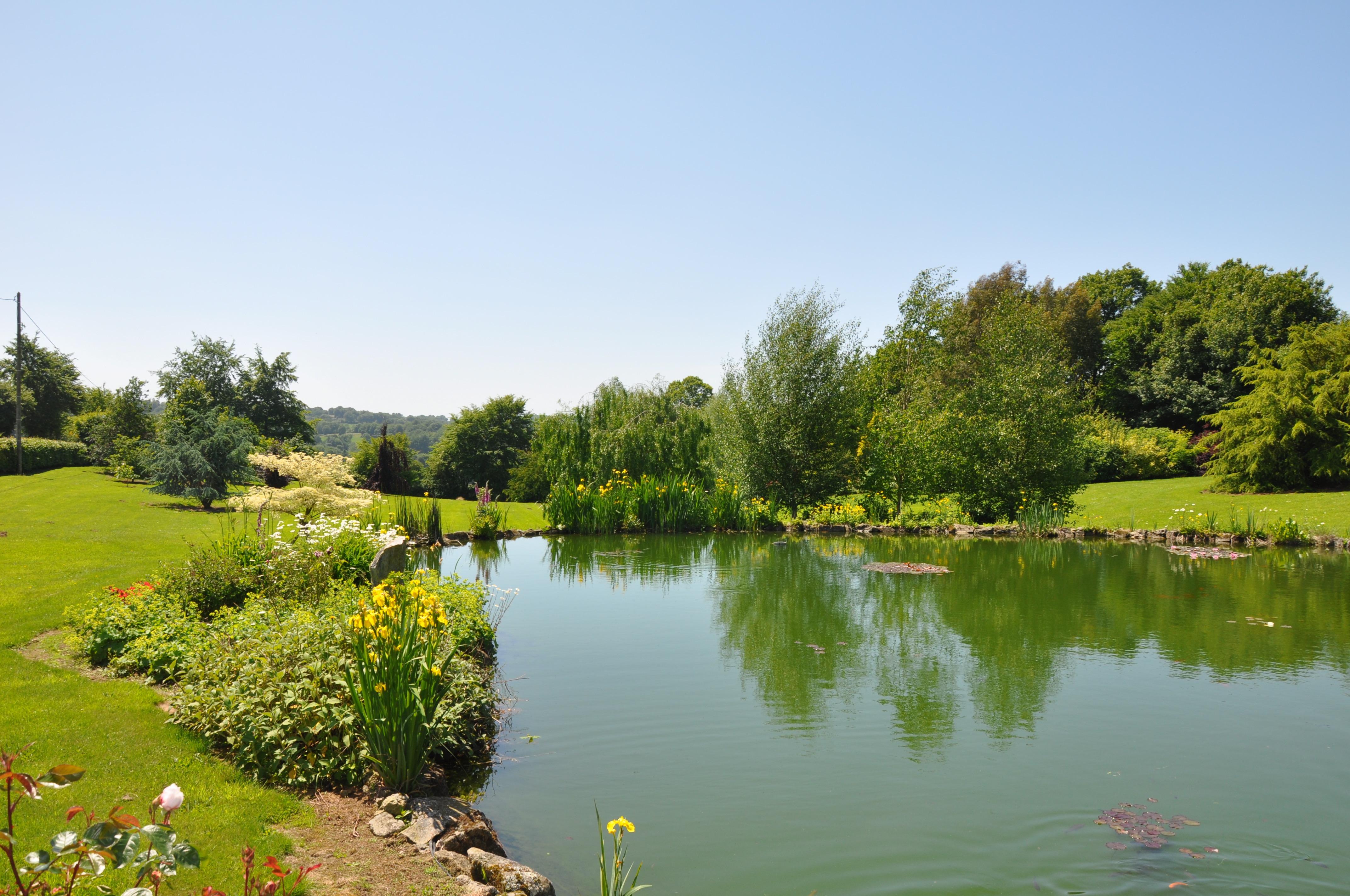 La Herpiniere Pond