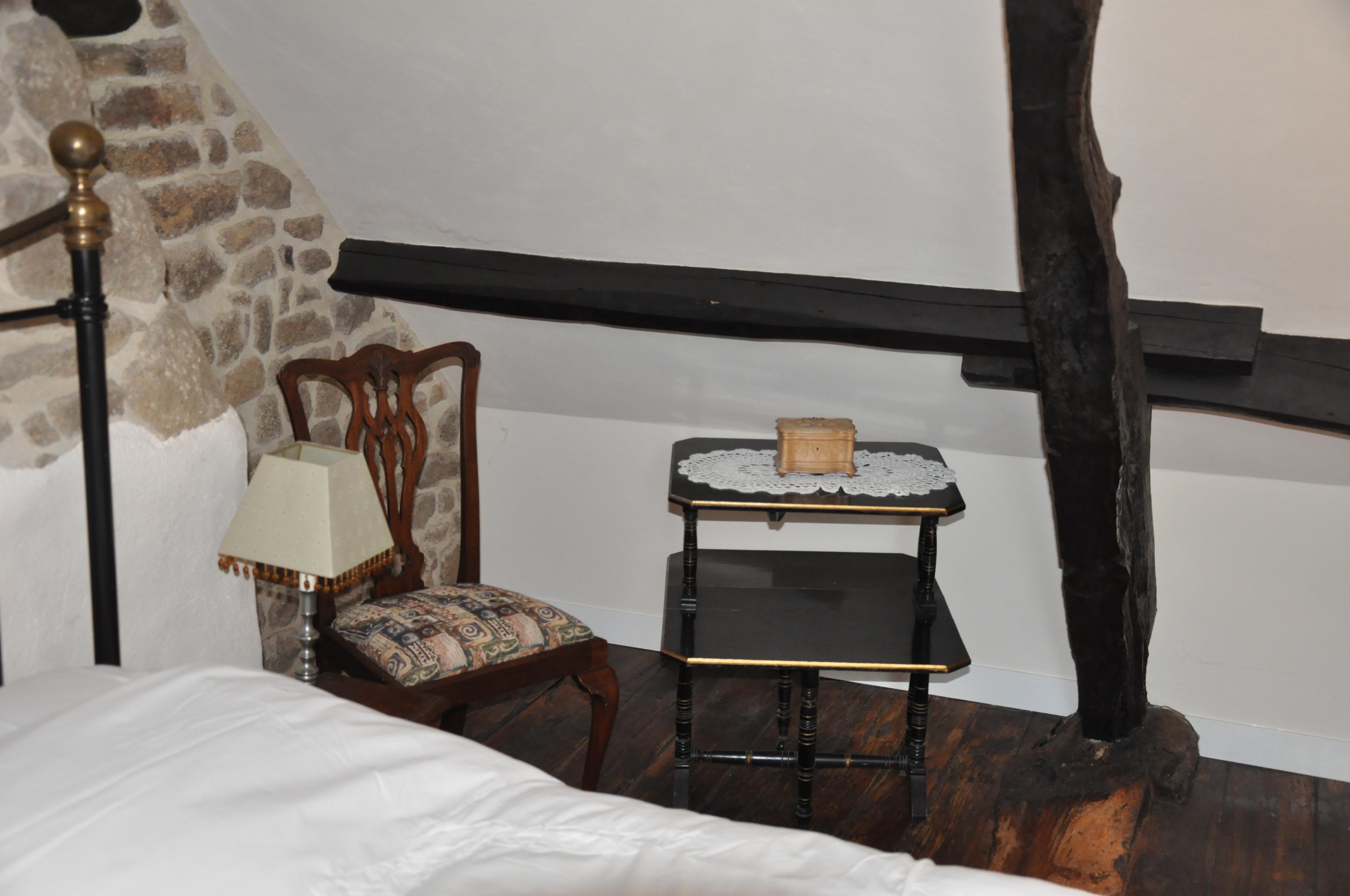 La Herpiniere Main Bedroom Detail
