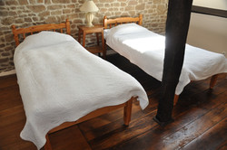 La Herpiniere Twin Bedded Room