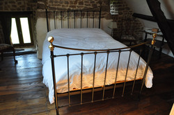 Traditional Brass & Iron Double Bed