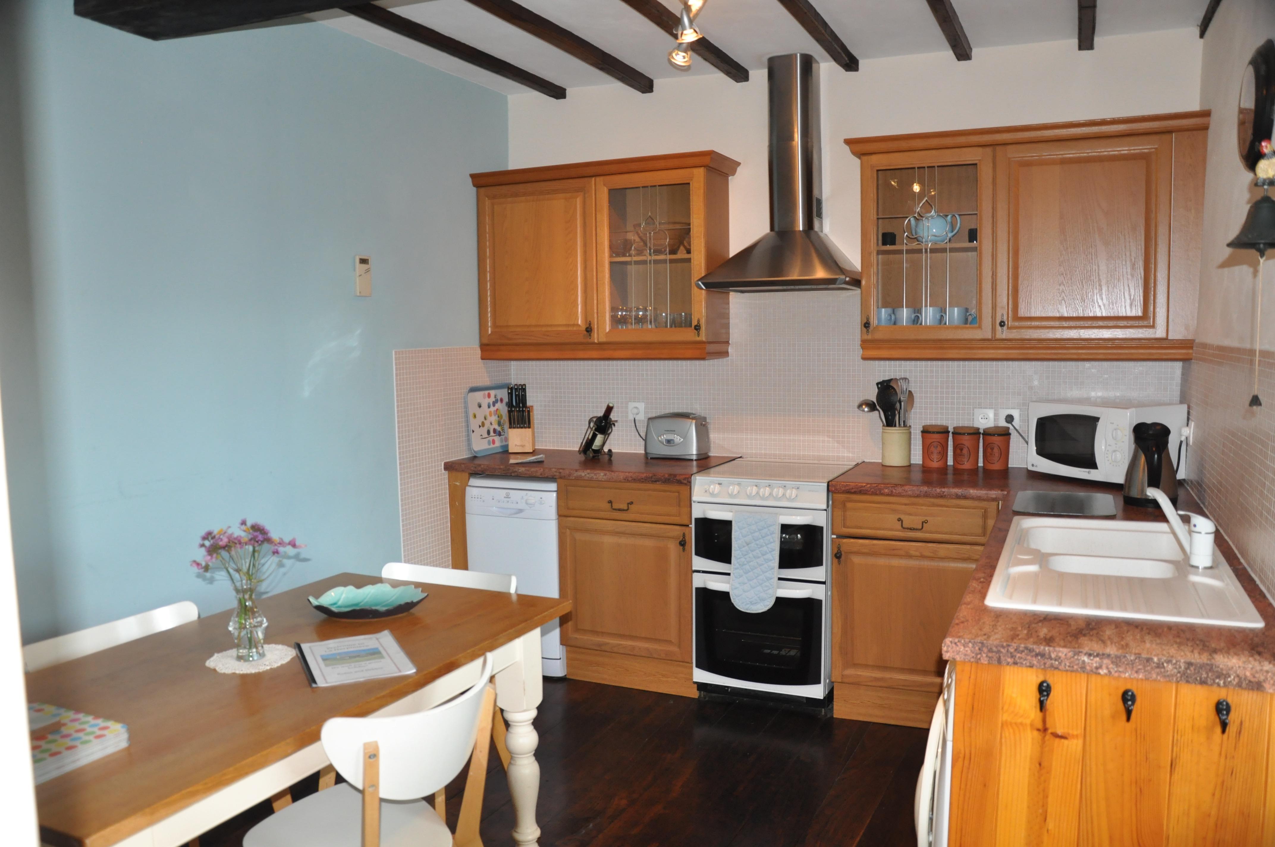 La Herpiniere Kitchen/Dining