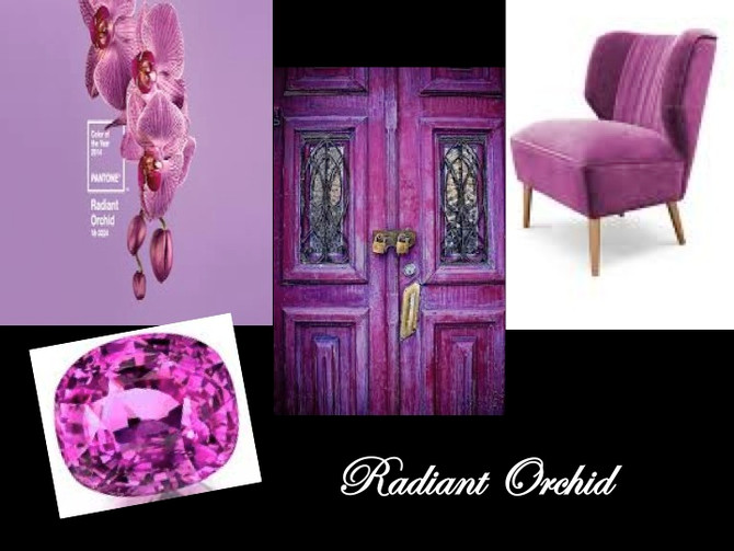 It's Official! Colour of the Year 2014 is Radiant Orchid