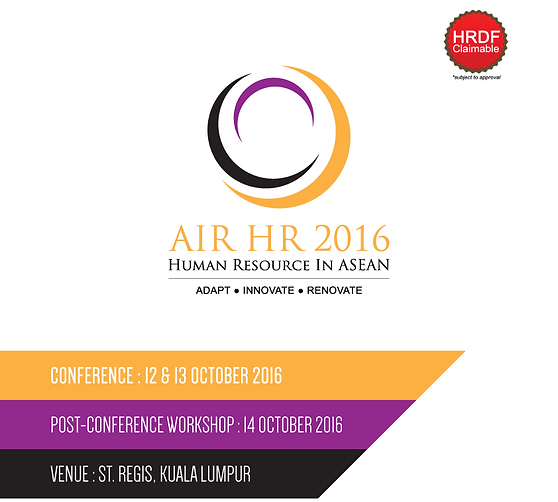 AIRHR2016: Human Resources Conference 2016