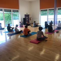 Séance découverte du yoga 07/07/2021