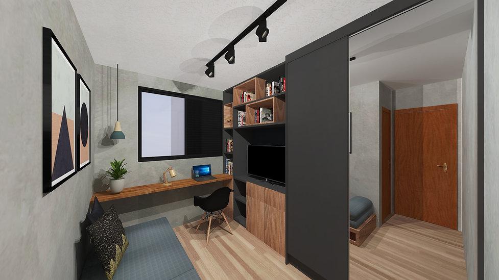 Mateus Castilho, Arquitetura, projeto apartamento, Belo Horizonte