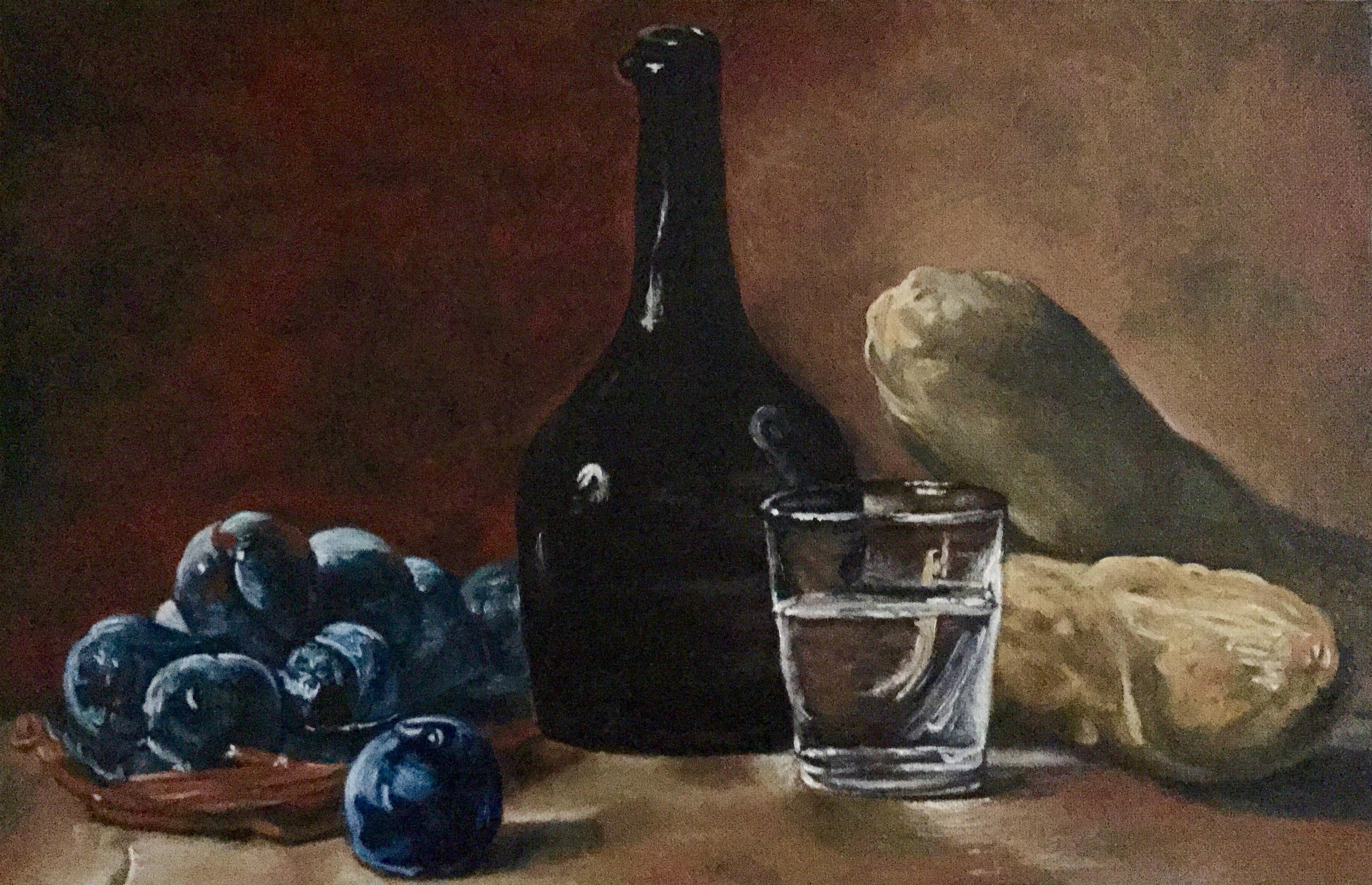 Nature morte aux prunes (1730)