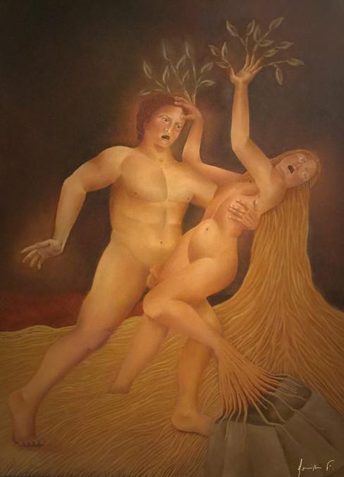 Daphné et Apollon