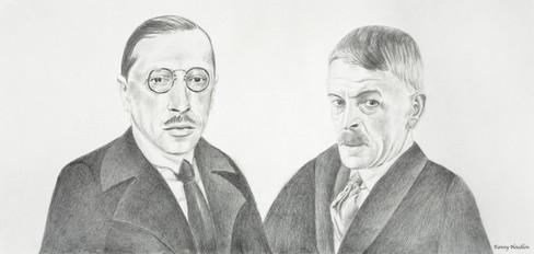 Igor Stravinsky et Charles-Ferdinand Ramuz
