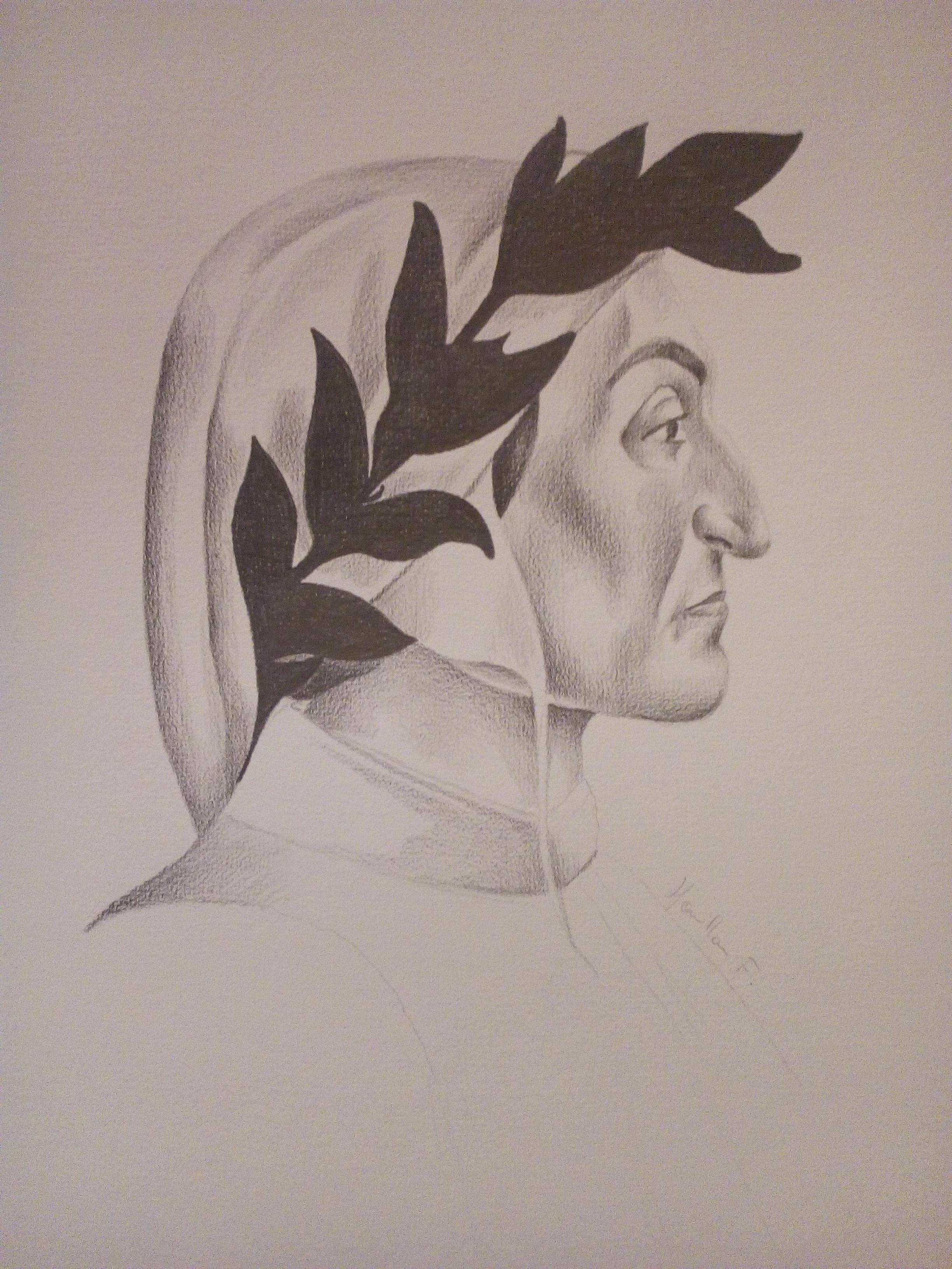 Dante Alighieri (d'après Botticelli)