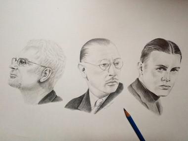 John Adams, Igor Stravinsky, George Antheil