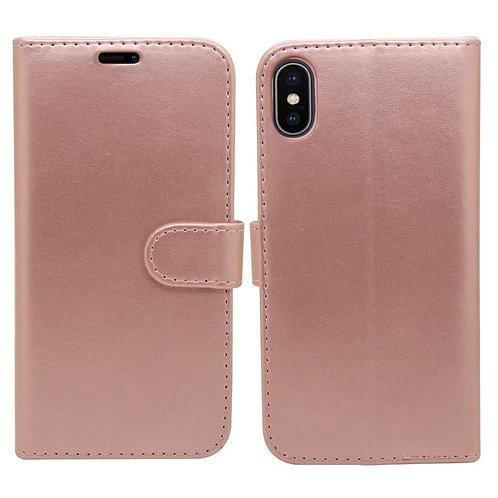 iPhone XR Wallet Case - Rose Gold