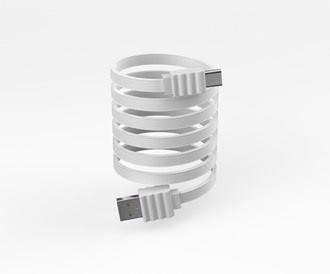 Devia 2.0A 'Flat' Micro USB Cable