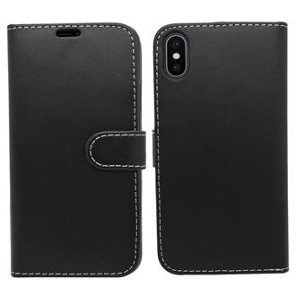 iPhone XR Wallet Case - Black
